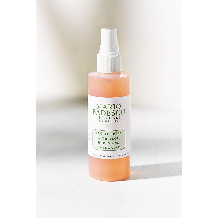 Mario Badescu ? Toner xịt dưỡng da Facial Spray With Aloe, Herbs And Rosewater