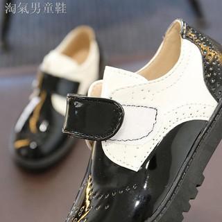 giày đen phong cách anh cho nam