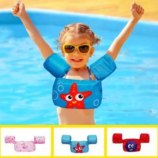 [HÀNG ĐẸP] Áo Phao Tập Bơi Đeo Tay Đỡ Ngực Cho Trẻ Học Bơi