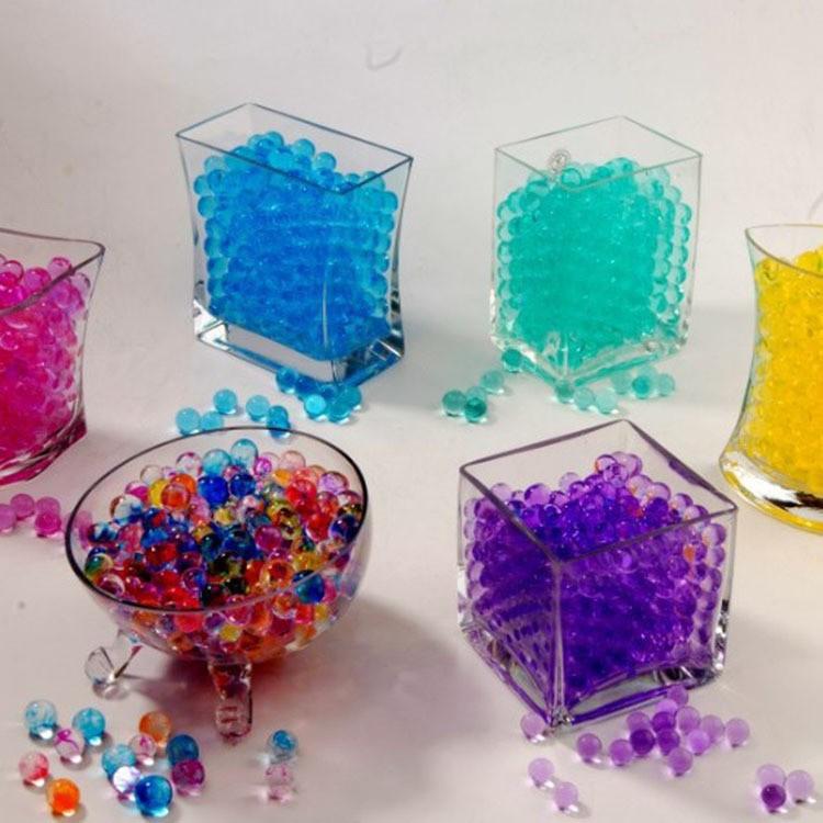 Nguyên liệu trang trí gói 100gram hạt nở 1 màu mã IYX78 PLINHPI