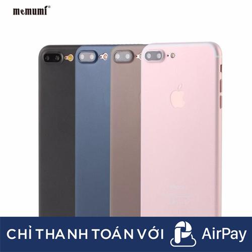 [ELMT20K Hoàn 20K Xu] Ốp Lưng Trong Nhám UniBody IPhone Mỏng 0,3mm
