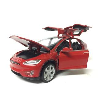 Mô hình xe Ô TÔ TESLA Model 90X tỷ lệ 1:32