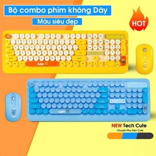 Bàn phím, Combo Bàn phím và Chuột không dây MOFii Ferris Hand 666 - Hàng chính hãng Bộ siêu tập Cute Hót nhất Châu A thumbnail