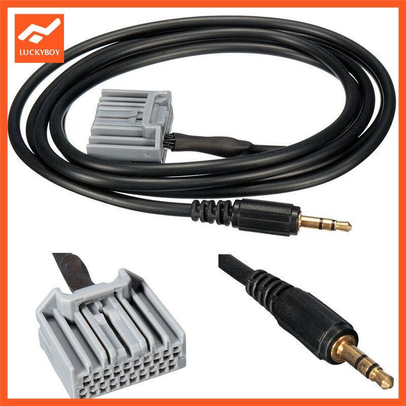 LU Universal Car Cable Adapter Car Audio Cable Interior Accessories 3.5mm Honda CRV