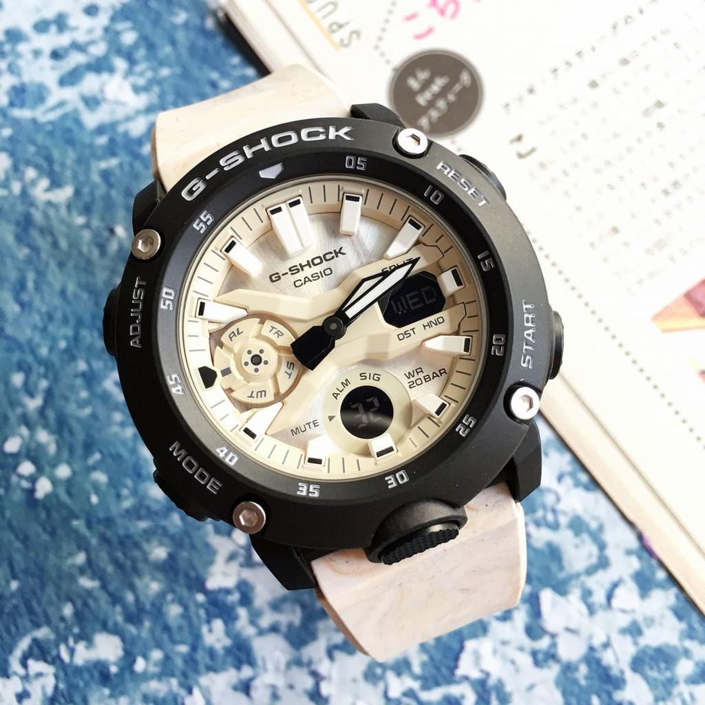 Đồng Hồ Nam Casio G-Shock GA-2000WM-1ADR Chính Hãng - Dây Nhựa   G-Shock GA-2000WM-1