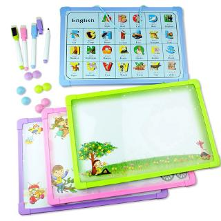 Children's whiteboard magnetic alphabet blackboard teaching practice writing board toddler baby early teaching aids
