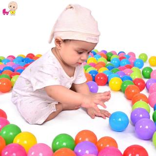 ❦Ready Stock❦☞ Eco-Friendly Colorful Ocean Wave Balls Pool Outdoors Baby Kids Soft Toys