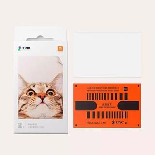 Hộp giấy in ảnh 50 tờ Zink 2×3″ dùng cho máy Canon PV123, Xiaomi, Huawei