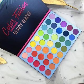 Bảng phấn mắt Beauty Glazed Color Fusion Over The Rainbow 39 ô BG70 thumbnail