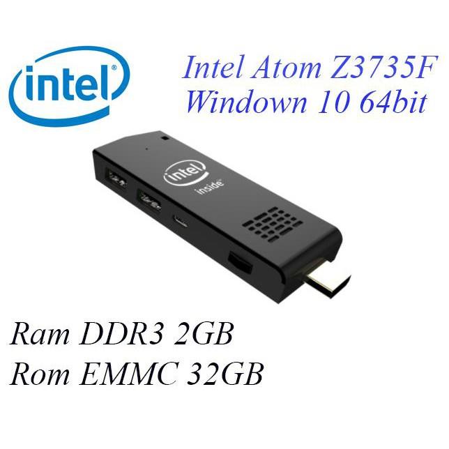 Máy tính Intel Pocket PC compute stick windows 10 64bit, Ram 2GB,CPU Intel Z3735F ... giá sock - 3551866 , 998182487 , 322_998182487 , 2749000 , May-tinh-Intel-Pocket-PC-compute-stick-windows-10-64bit-Ram-2GBCPU-Intel-Z3735F-...-gia-sock-322_998182487 , shopee.vn , Máy tính Intel Pocket PC compute stick windows 10 64bit, Ram 2GB,CPU Intel Z3735F