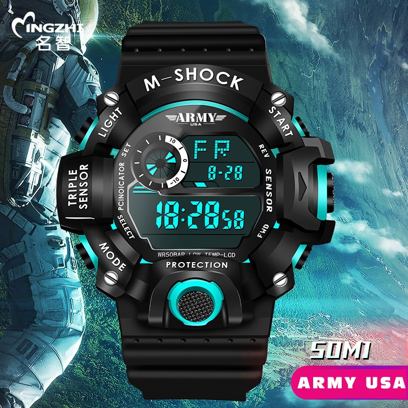 Đồng hồ Trẻ Em ARMY TYLER USA An toàn tuyệt đối cho Bé, Chống Sốc, Chống Nuốc Tốt