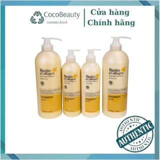 Dầu Gội Xả Biotin & Collagen VOUDIOTY New Cho Bạn Mái Tóc Mềm Mượt Và Giảm Gãy Rụng Với Dung Tích 500ML. thumbnail
