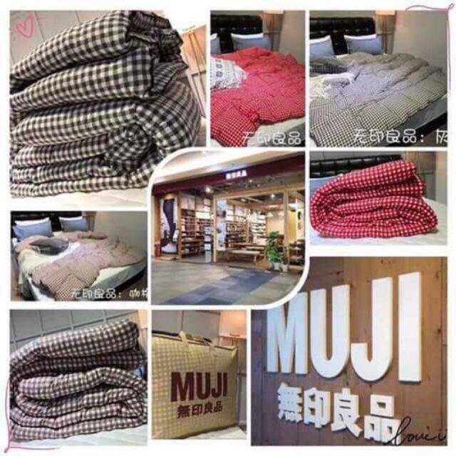 Chăn phao đũi Muji