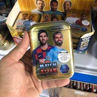 [ Mini Tin ] Match Attax 19/20 UFEA EURO (45 thẻ )