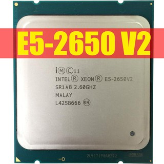 CPU Intel Xeon E5-2650v2 8 Core 16 Threads turbo 3.40 GHz