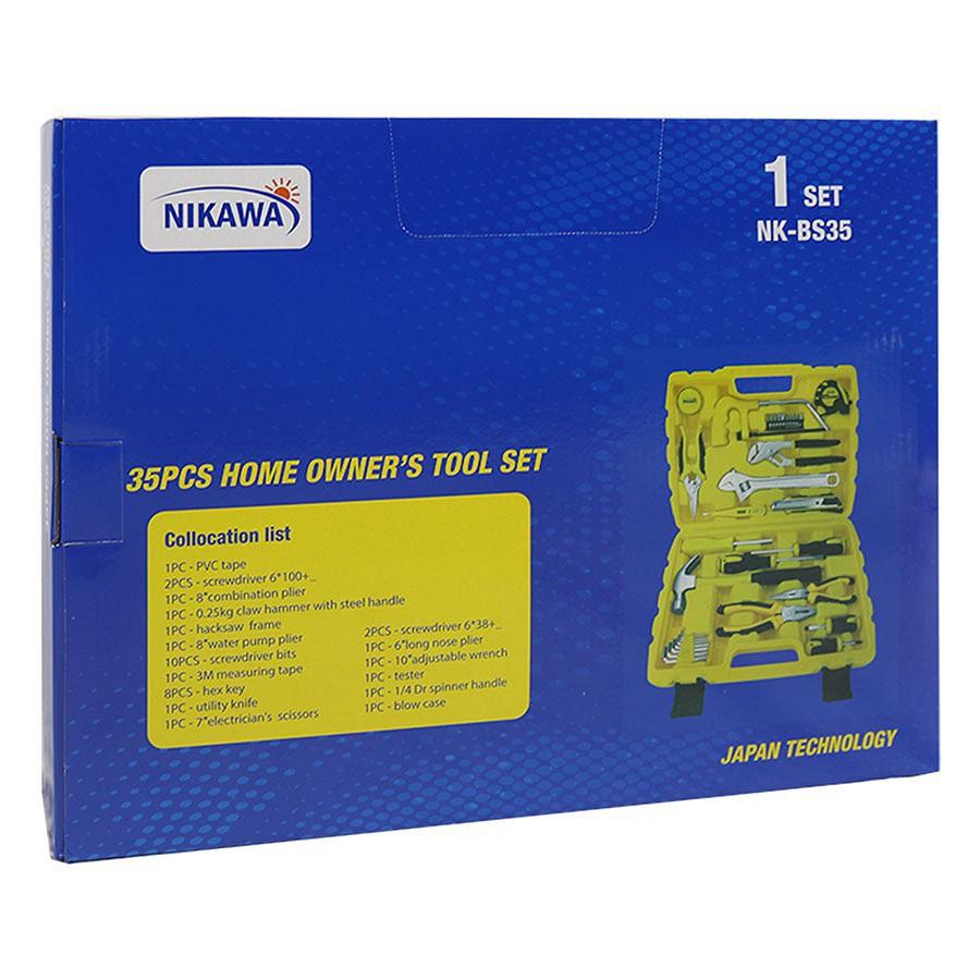 [ TOPSALE ]Bộ Dụng Cụ Đa Năng 35 Món NK-BS035 Nikawa Tools -hgdreshop - 14486246 , 2047355732 , 322_2047355732 , 1629375 , -TOPSALE-Bo-Dung-Cu-Da-Nang-35-Mon-NK-BS035-Nikawa-Tools-hgdreshop-322_2047355732 , shopee.vn , [ TOPSALE ]Bộ Dụng Cụ Đa Năng 35 Món NK-BS035 Nikawa Tools -hgdreshop