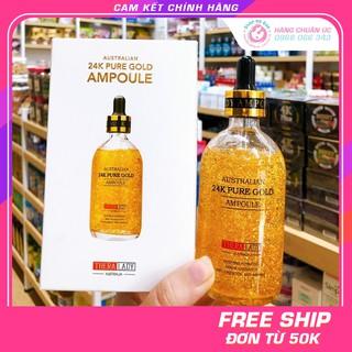[CHÍNH HÃNG] Serum Tinh Chất Vàng 24k Pure Gold Ampoule Thera Lady 100ml (Date mới nhất) - Xuất xứ Úc thumbnail