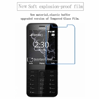 for Nokia 230 flexible Nano Explosion-proof Screen Protector Ultra thin clear Tempered (soft glass) film for Nokia 230