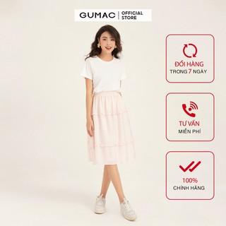 Chân váy nữ rã tùng GUMAC VB1100