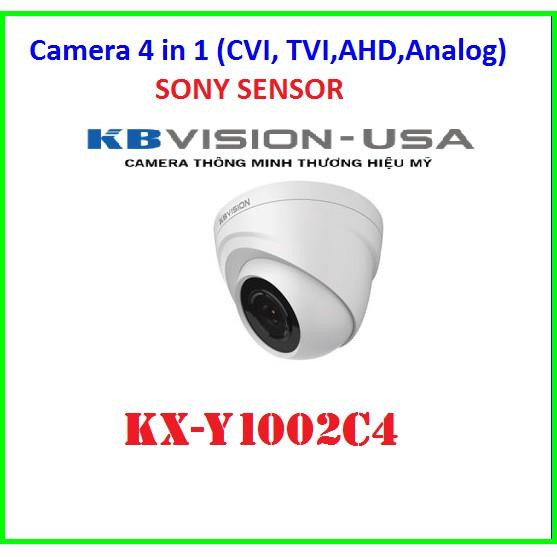 CAMERA 4 TRONG 1 KBVISION KX-Y1002C4  ( 1.0MEGAPIXEL )