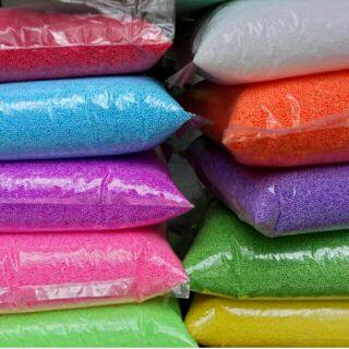 100g hạt xốp đủ màu, được chọn màu