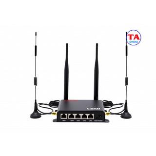 Bộ phát Wifi 3G 4G LTE APTEK L300 tốc độ 150Mbps. 1 WAN + 4 LAN thumbnail