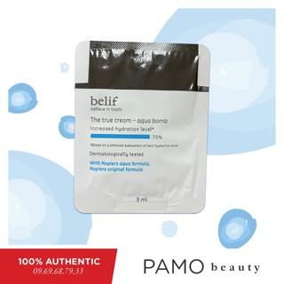 Kem dưỡng da dạng gel Belif The True Cream Aqua Bomb 3ml thumbnail