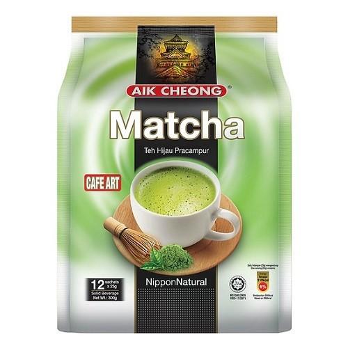 Trà Sữa Vị Trà Xanh Aik Cheong Matcha Café Art (12 Gói...