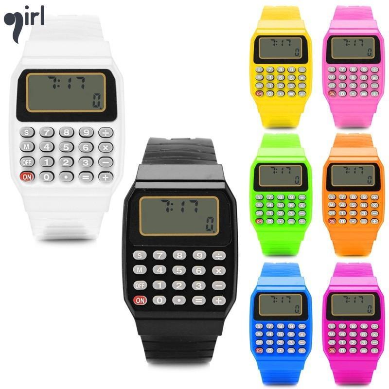 Đồng hồ đeo tay hiển thị màn hình LCD cho trẻ em