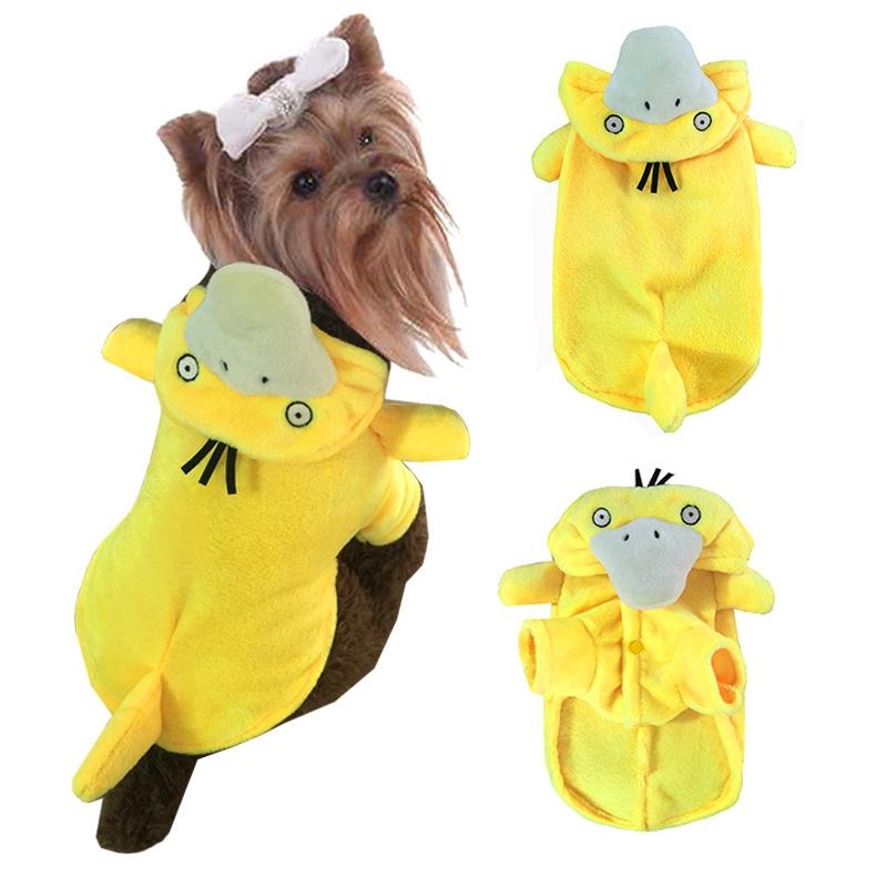 Pet clothes, elves, pockets, monsters, Koda ducks, costumes, Baoke Dream Series
