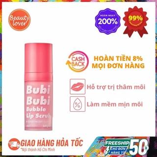 Tẩy Tế Bào Chết Môi Bubi Bubi Lip Scrub 10ml Beauty Lover Tẩy Tế Bào Chết Môi Sủi Bọt thumbnail