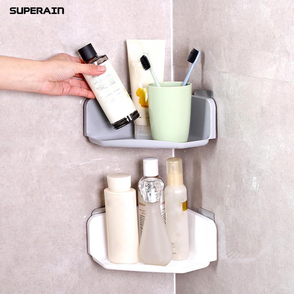 Kệ hít tường để đồ phòng tắm tiện lợi