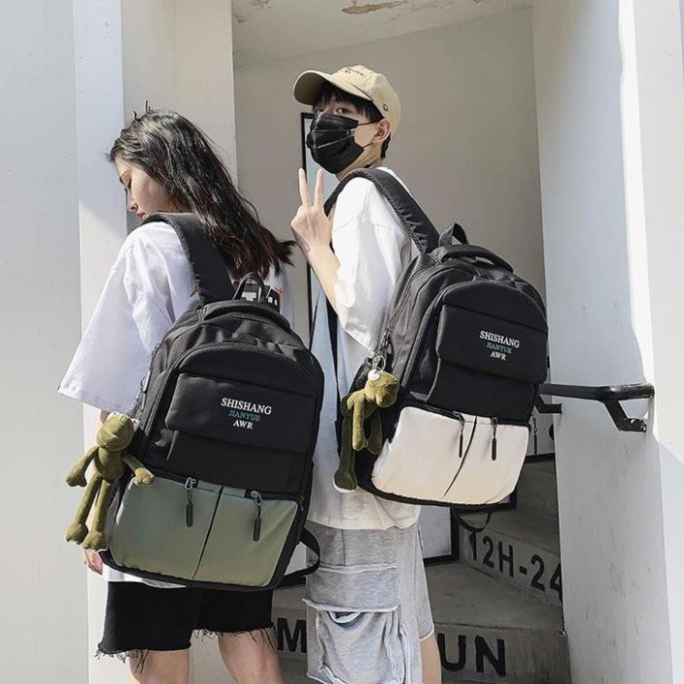 Balo nam nữ chống nước Hàn Quốc cỡ to đựng laptop SHISHANG TX109