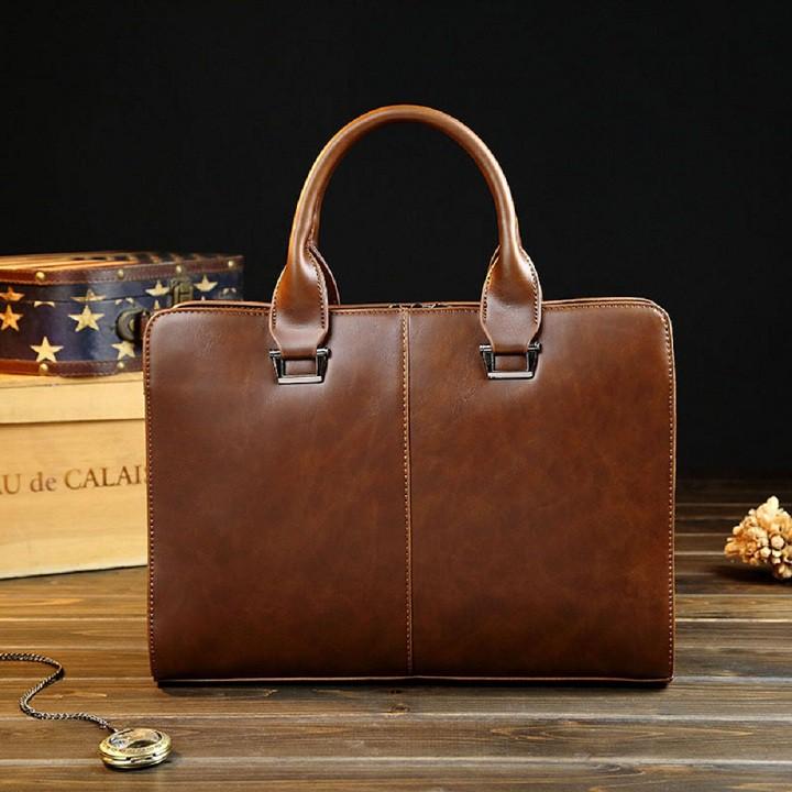 Túi xách da thời trang nam