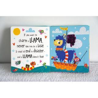 sách cảm giác How to Charm A Llama (kim sa)