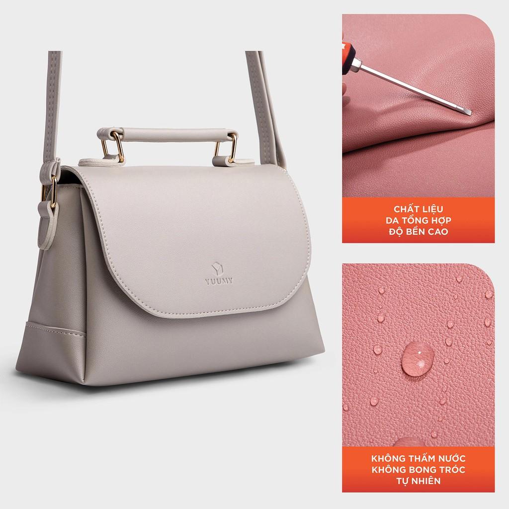 [TẶNG YMK10] Túi đeo chéo nữ thời trang YUUMY YN48 nhiều màu