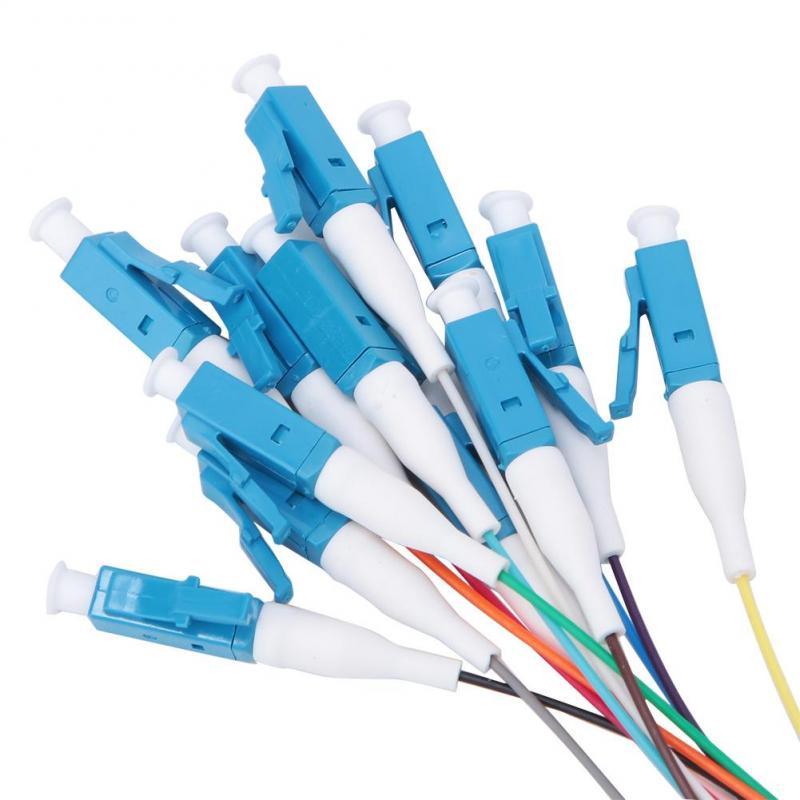 Chùm 12 sợi cáp quang 1.5m LC/UPC một chế độ dùng để cài đặt hệ thống nhà thông minh