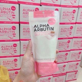 Tẩy tế bào chết body Alpha Arbutin Salt Scrub Thái Lan thumbnail