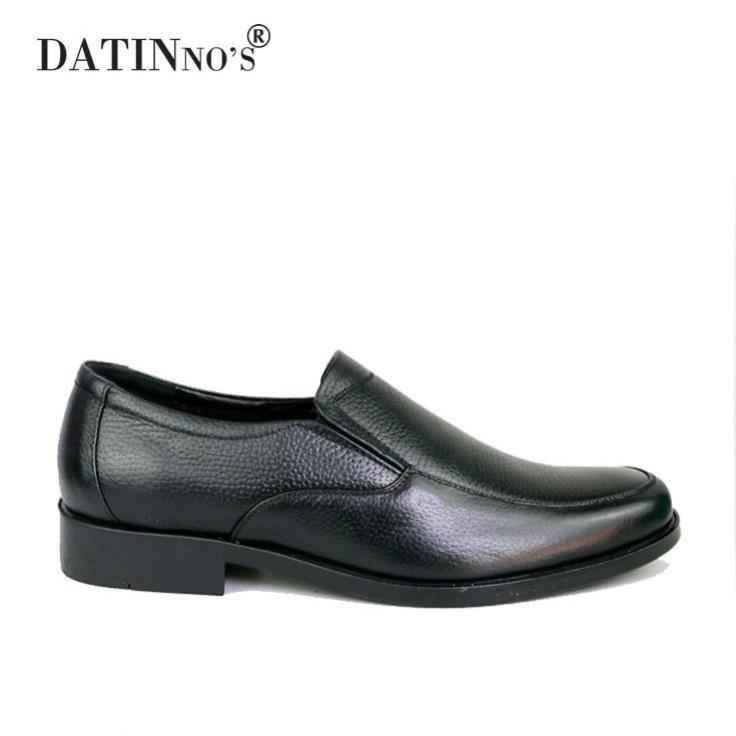 [Sale 3/3]Giày Tây Nam Da Bò Cao Cấp DATINNOS ( Đen ) - AV3024 -pi9