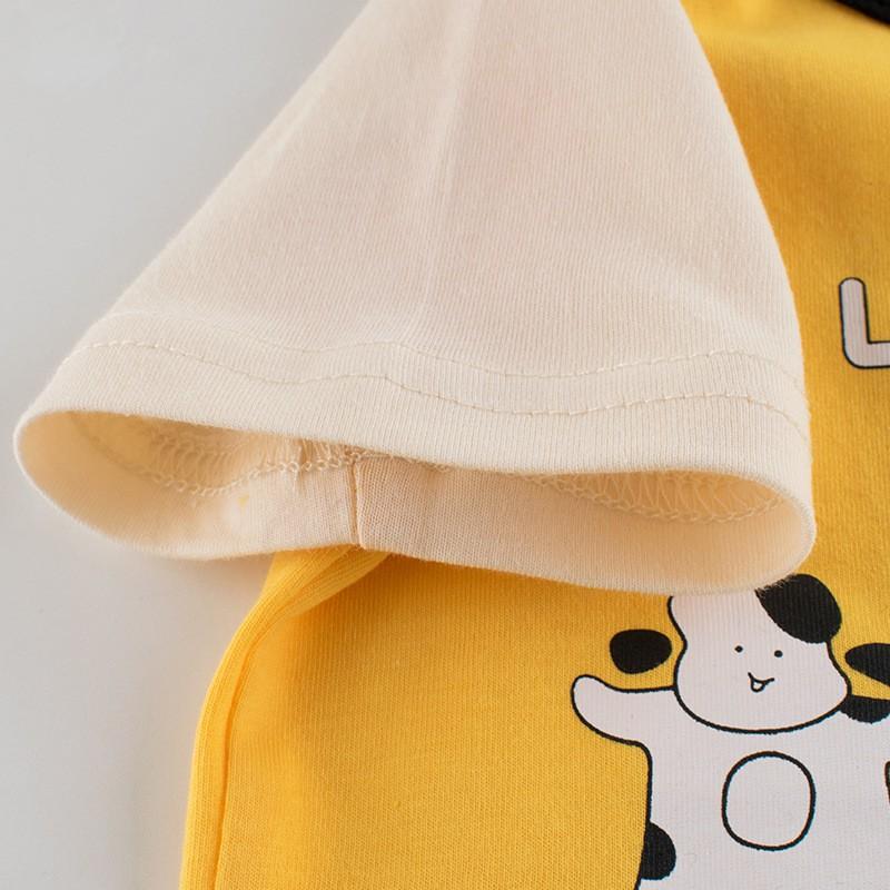Áo thun cộc tay bé gái hãng 27HOME Quảng Châu