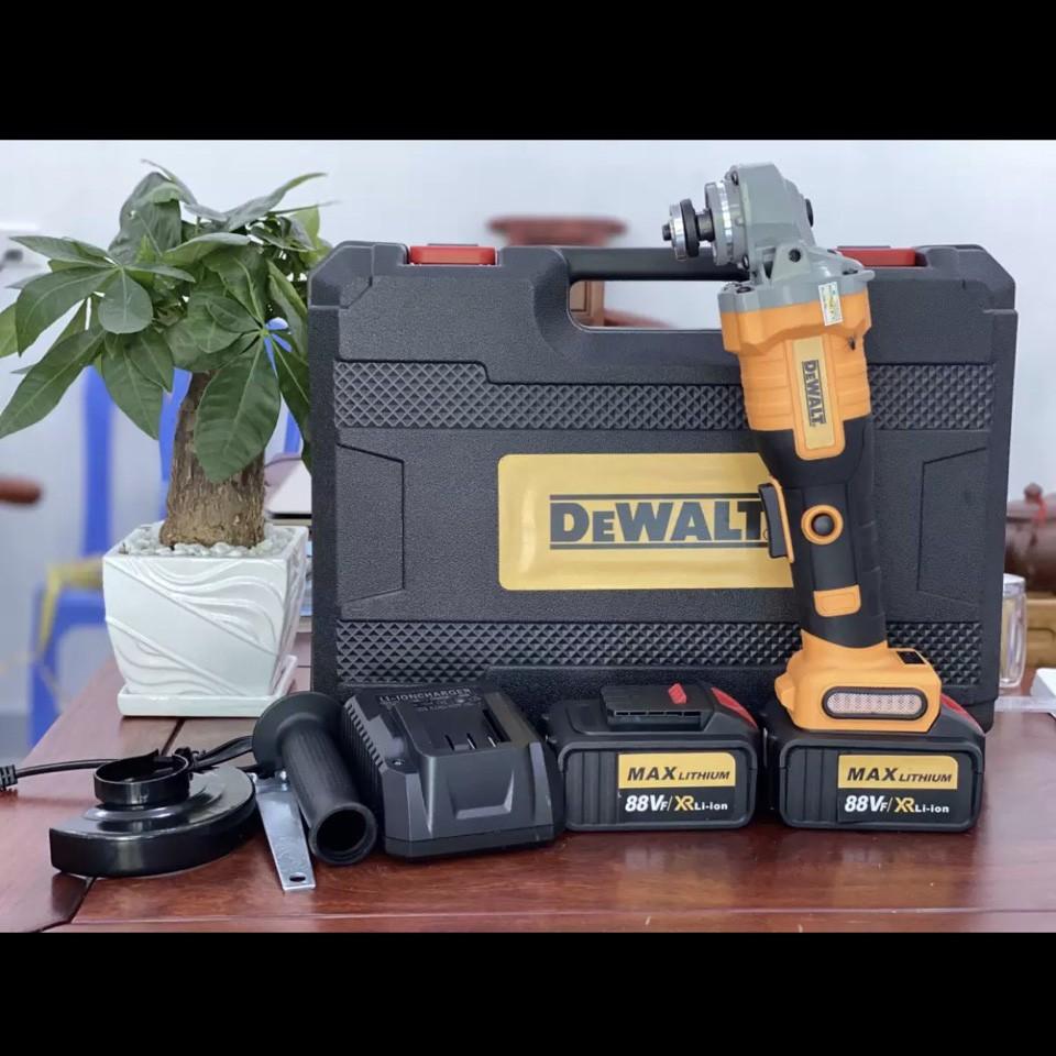 Máy mài dùng pin Dewalt 850w Không chổi than - Máy cắt chạy pin