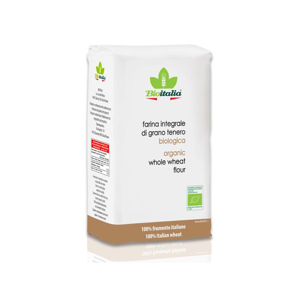 Bột mì nguyên cám hữu cơ Bioitalia 1kg