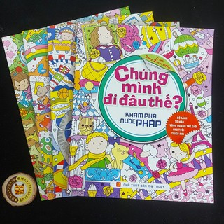Sách- Chúng mình đi đâu thế - tô màu (lẻ cuốn) Monty club thumbnail