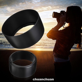 Lens Hood Round ABS Quick Release Detachable Durable Easy Install Black For Canon EF