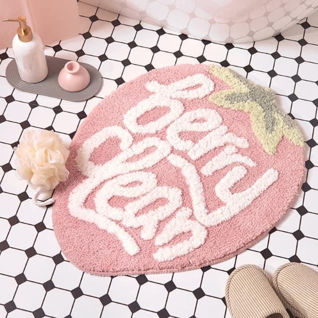 Thảm chùi chân lông len thấm hút tốt, thảm lau chân phòng khách, nhà bếp, nhà tắm chống trơn trượt