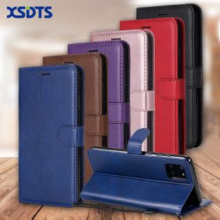 Wallet Case For Samsung Galaxy A01 A11 A21 A31 A41 A51 A71 A81 A91 Flip PU Leather Portable Wallet Phone Cover With Card Pocket