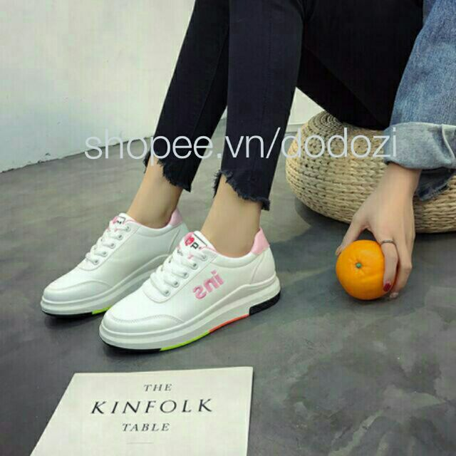 GIÀY NỮ SNEAKERS THỂ THAO ĐẾ CAO 4.8CM [ mã ins 08] - 3441691 , 973857341 , 322_973857341 , 280000 , GIAY-NU-SNEAKERS-THE-THAO-DE-CAO-4.8CM-ma-ins-08-322_973857341 , shopee.vn , GIÀY NỮ SNEAKERS THỂ THAO ĐẾ CAO 4.8CM [ mã ins 08]