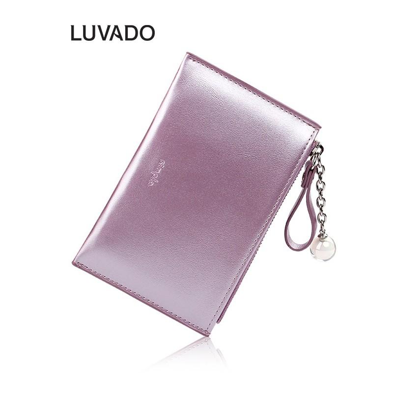 Ví nữ nhiều ngăn mini cầm tay TAOMICMIC đựng tiền nhỏ gọn bỏ túi LUVADO VD387