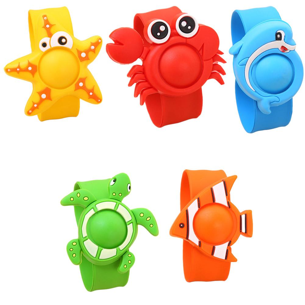 Silicone Cartoon Baby Summer Outdoor Mosquito Killer Repellent Bracelet Camp Anti