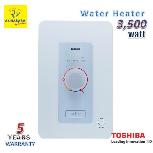 **ลดเพิ่ม 80.- สำหรับลูกค้าใหม่เพียงใช้โค๊ด SINS0000 **WH3511MC (NW) เครื่องทำน้ำอุ่น3500 วัตต์ Toshiba